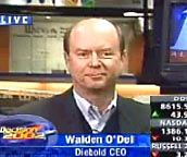Diebold CEO Walden O'Dell