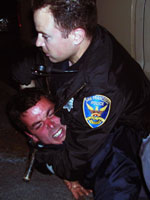 one of three SF G8 arrestees in 2005