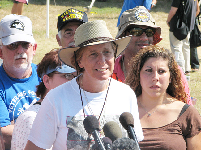 Cindy Sheehan, morni...