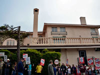 Workers Still Protest One Year After Sam Grossman's Take-Over of La Playa Carmel