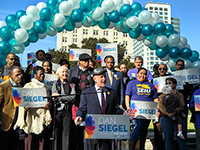 Siegel Campaign Goes Against the Tide of Law-and-Order Politicians in Oakland