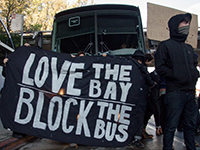 April Kicks Off with Two Anti-Gentrification Tech Bus Blockades in Oakland