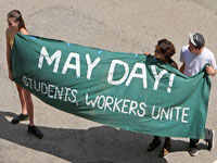 May Day Holiday Brings Calls for Resignation of UC President Janet Napolitano
