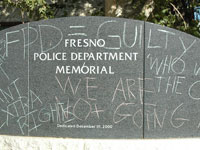 Group Protests Police Shooting in Fresno