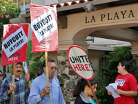 La Playa Carmel and the Enduring Picket Line