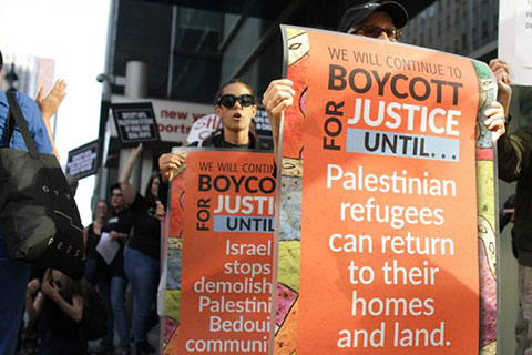 New Yorkers tell Governor Cuomo: We Will Continue to Boycott Israel