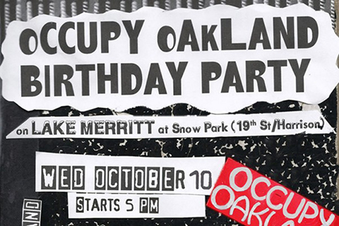 Occupy Oakland Celebrates 1-Year Anniversary with Birthday Party