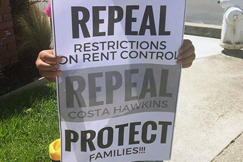 Campaign Launches to Repeal Costa-Hawkins