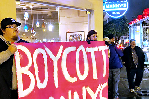 What the Boycott of Manny's in San Francisco's Mission Is All About