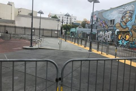 City of San Francisco Abrupty Closes 16th Street and 24th Street BART Plazas