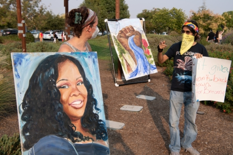 Protests After Breonna Taylor Decision