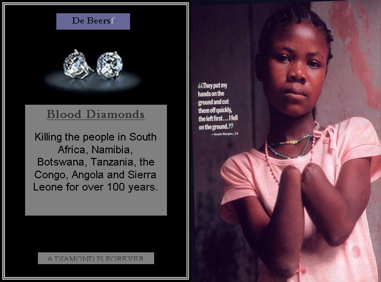 Anti De Beers Diamond Spoof Ad Indybay