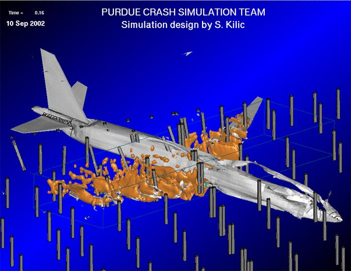 new simulation shows 911 pentagon plane crash with