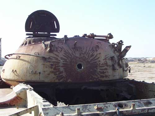 Tanks Destroyed By Depleted Uranium In The 91 Gulf War