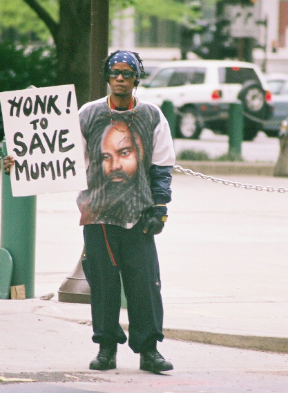 honk to save mumia by Hans Bennett