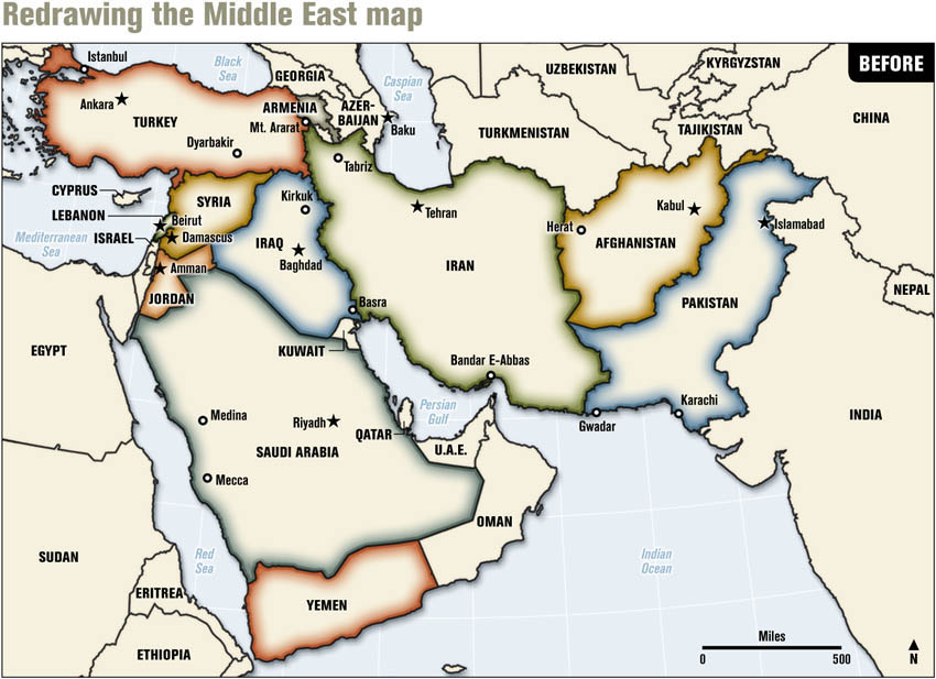 Neocons Plan A New Mideast Map Seriously Indybay