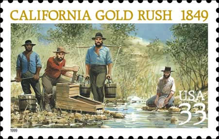 gold rush pictures. California Gold Rush History