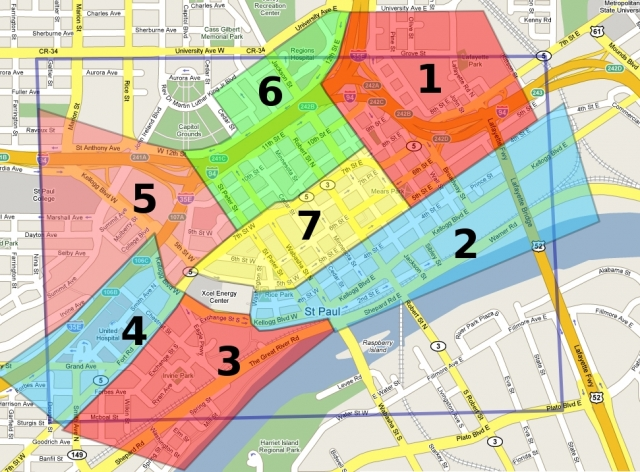 St Paul Traffic Map.Rnc Strategy Swarm Seize Stay Sectors Three Tier Strategy