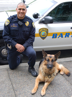 "BART Police Officer Mike Zendejas asking for ""Donations ..."