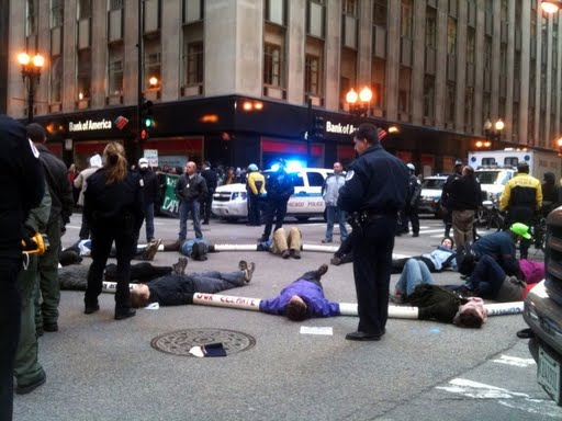 a description of the wto protests in chicago Broken windows, graffiti and trash littered the streets after some of the 45,000 protesters demonstrating against the wto meeting turned violent.