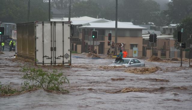 Singleton rainfall today