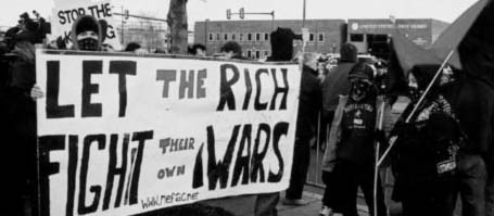 let the rich fight their own wars