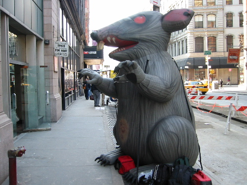 Nlrb Rules That Display Of Inflatable Rat Balloon At