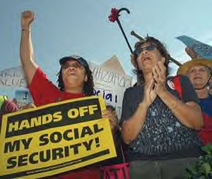 the social security crisis The social security trust fund is expected to be exhausted in 2033 after that, there will be enough tax revenue coming in to pay out about three quarters of promised benefits.
