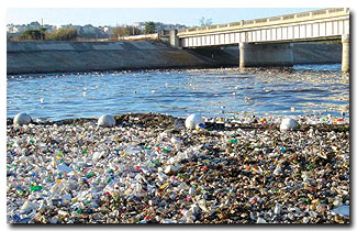 Image result for water pollution debris