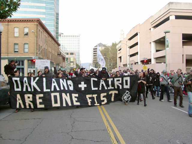 Occupy Oakland Egypt Solidarity March, 11/12/11: Photos : Indybay