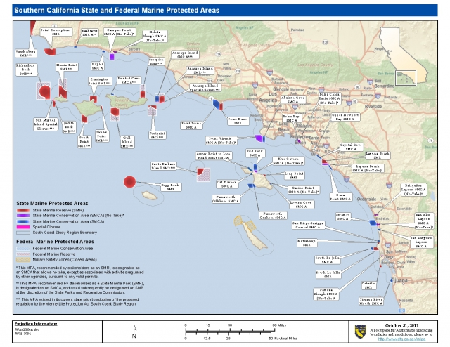 Controversial marine 39 protected 39 areas effective january 1 for California fish and game regulations