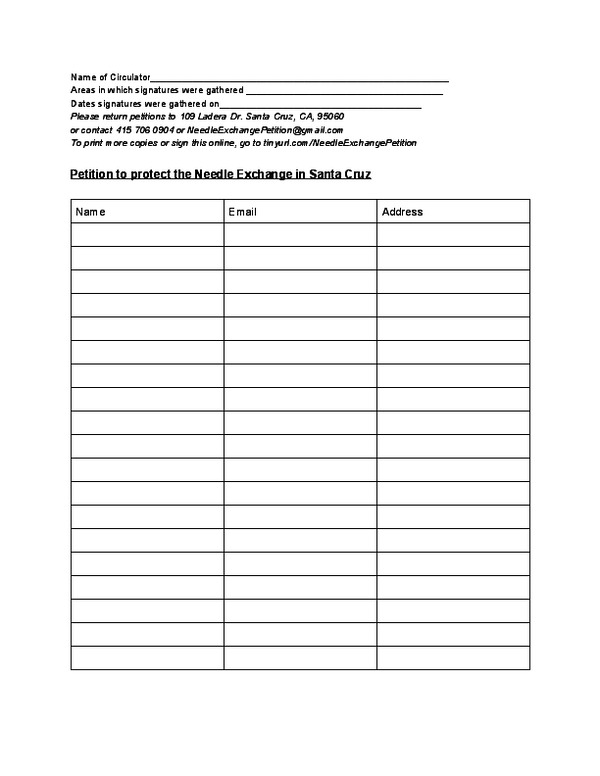 petition sign up sheet template - drug war dummies to mob cowardly city council nervous