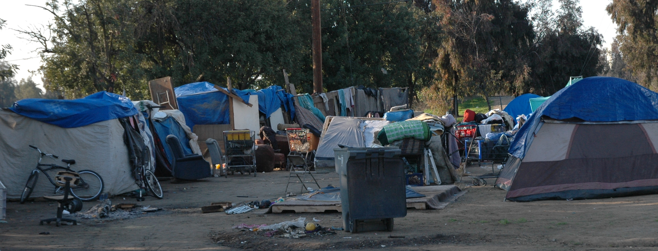 Truck Shows Near Me >> Fresno has no Heart - Will Evict the Homeless on Valentines Day : Indybay