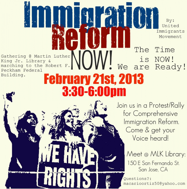 Immigration Reform News: Immigration Reform Now! : Indybay