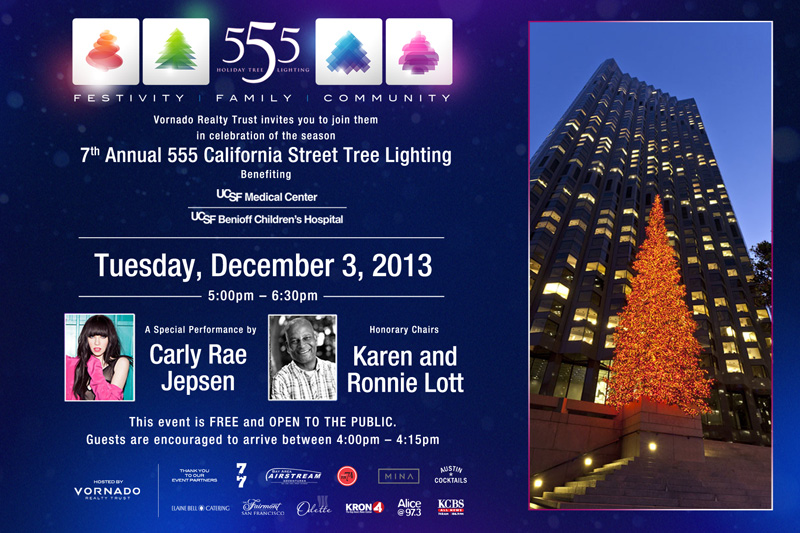 street holiday tree lighting featuring carly rae jepsen indybay