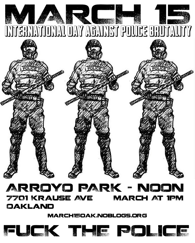 International Day Against Police Brutality : Indybay
