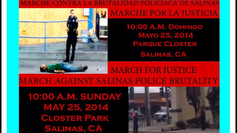 Protest the Police Murder of Carlos Mejia in Salinas @ Closter Park | Salinas | California | United States