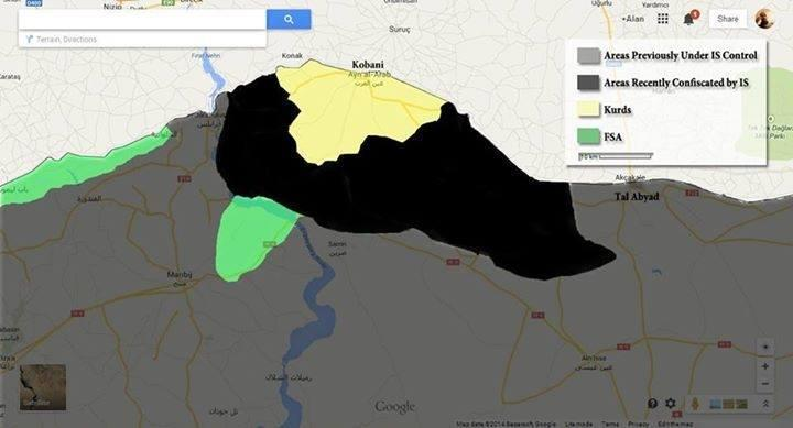 ISIS is now only 3km away from Kobane city center Indybay