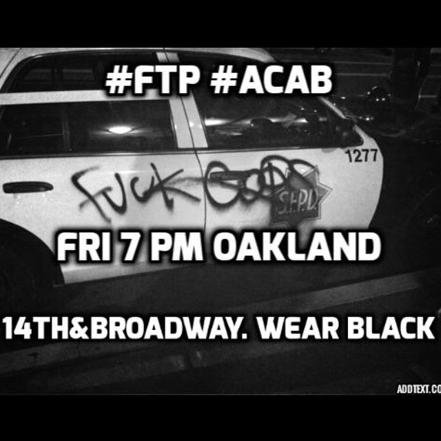 FTP Friday @ Oscar Grant Plaza | Oakland | California | United States