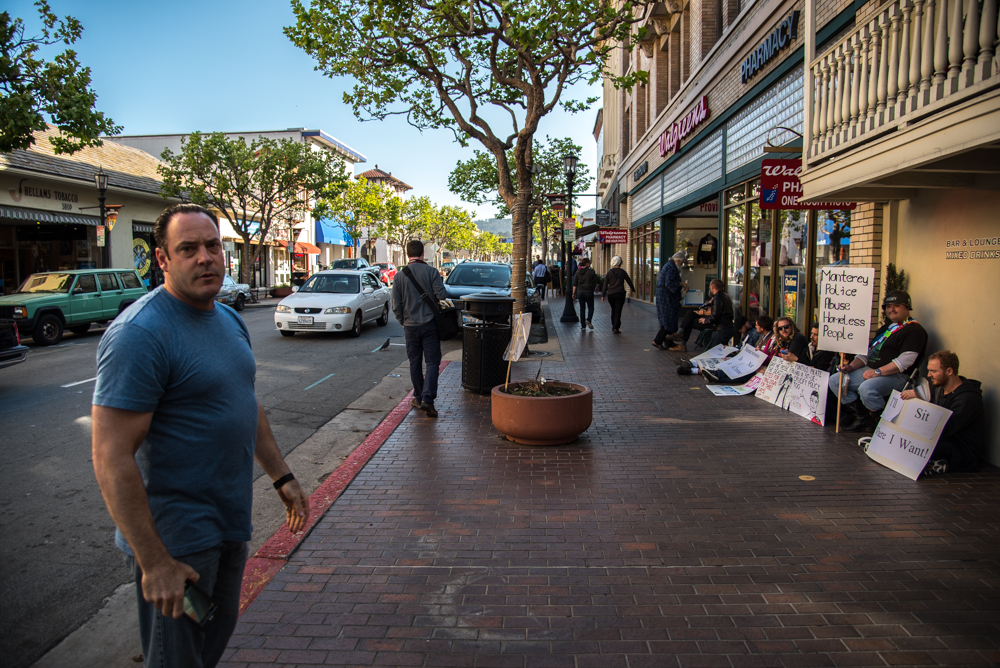 Resisting The Sit Lie Ban And Business Owners In Downtown
