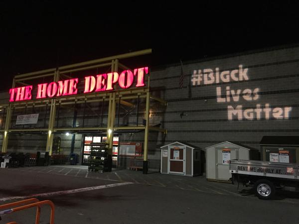 APTP returns to Home Depot to hold protest for womens lives