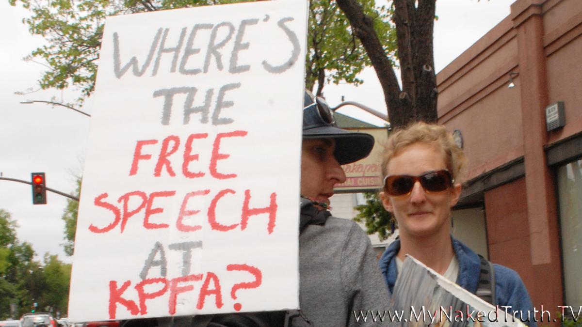 Sat. May 16 - Protest Against Censorship at KPFA - Anti