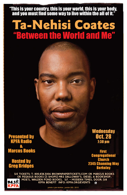 An Evening with Ta-Nehisi Coates @ First Congregational Church | Berkeley | California | United States