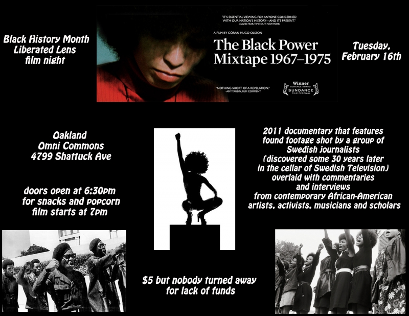 Film Night: The Black Power Mixtape 1967 - 1975 @ Omni Commons | Oakland | California | United States