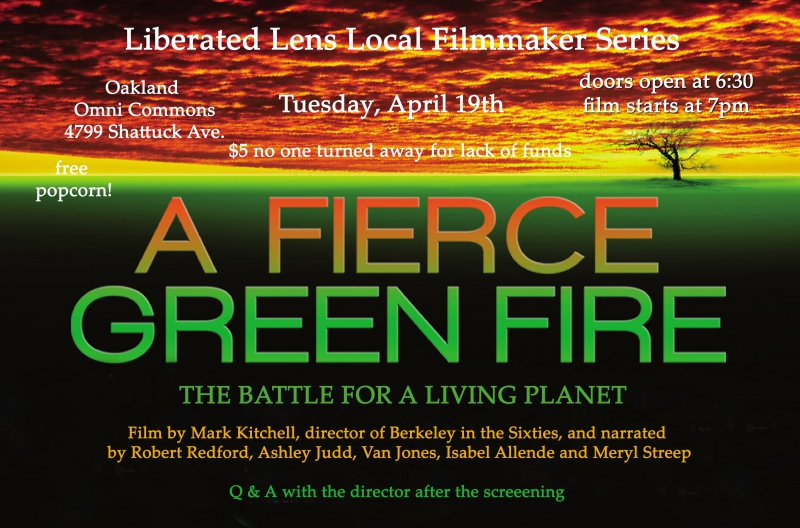 Film Screening: A Fierce, Green Fire. @ Omni Commons   Oakland   California   United States