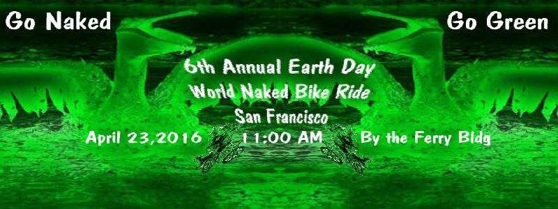 6th Annual World Naked Bike Ride - SF 2017 No- Hemi Pt. II
