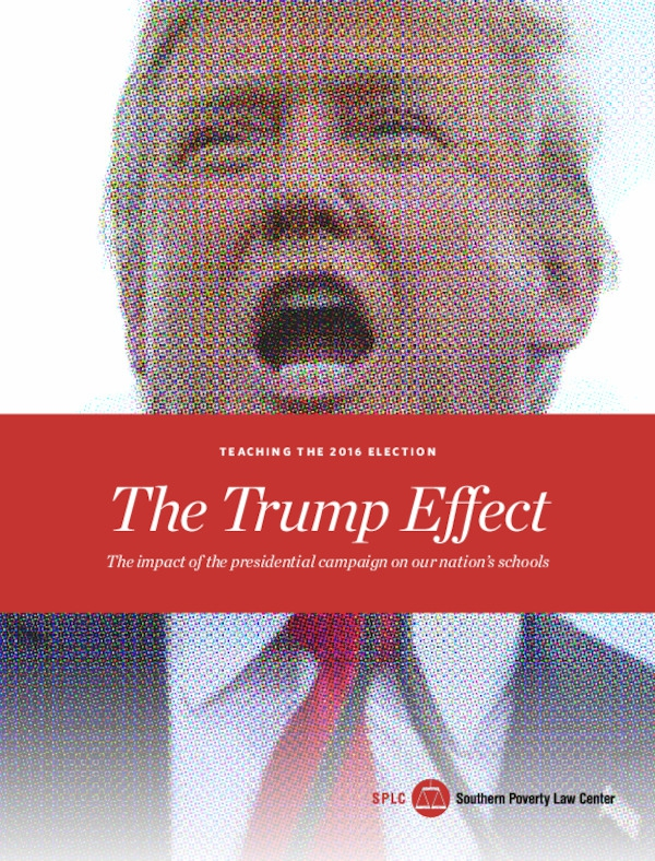 trump effect impact presidential election nations schools