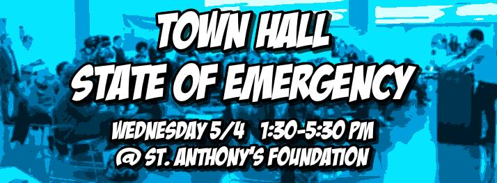 SF Town Hall: Homeless State of Emergency @ St. Anthony's Conference Room | San Francisco | California | United States