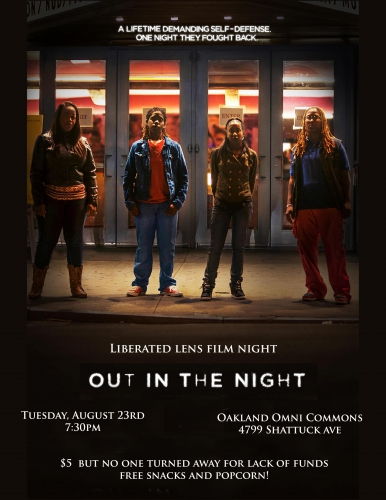 Film Screening: Screening: Out in the Night @ Omni Commons | Oakland | California | United States