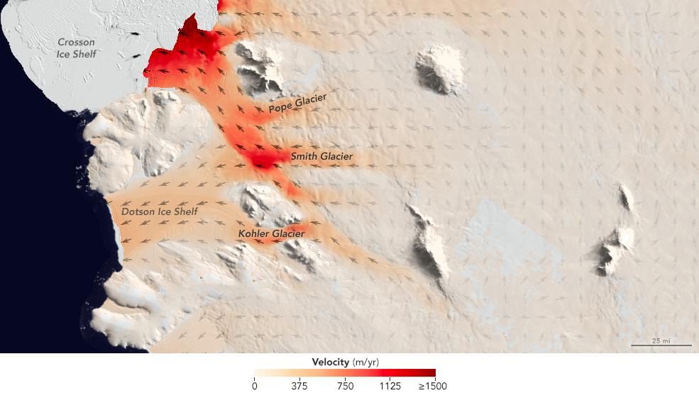 Warm ocean water melting Antarctica from below adding to ...
